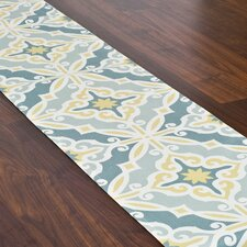 Hartford Saffron Hemmed Table Runner