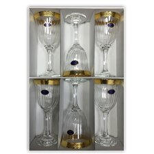 Rosa Key Water Goblet (Set of 6)