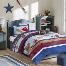 Touchdown Tommy Coverlet Set