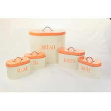5 Piece Canister Set