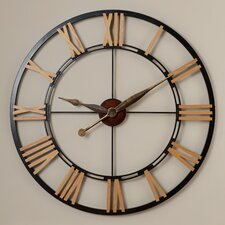 "Oversized 45"" Cologne Wall Clock"