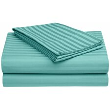 650 TC Egyptian Cotton Stripe Sheet Set