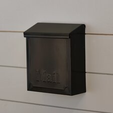 Townhouse Wall Mounted Mailbox with Lock