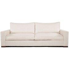 Madrid Ivory Upholstered Sofa