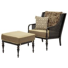 Sherborne Arm Chair and Ottoman