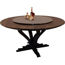 Marbella Round Crocodile Lacquer Dining Table