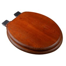 Wood Decorative Round Toilet Seat