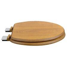 Wood Decorative Elongated Toilet Seat