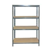 "Maxxi Steel 60"" H 4 Shelf Shelving Unit"