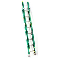 24 ft Fiberglass Extension Ladder with 225 lb. Load Capacity