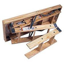 8 ft Wood Attic Ladder