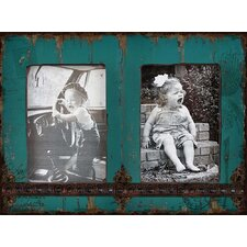 French Country Decor Twin Wood Picture Frame