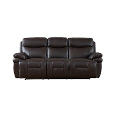 Rushmore Leather Recliner Sofa