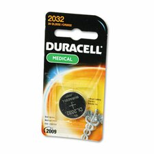 3V Lithium Button Cell Battery for Electronics