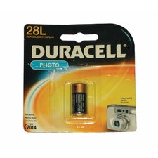 Duracell - Lithium Batteries 6.0 Volt Lithium Battery: 243-Px28Lbpk - 6.0 volt lithium battery (Set of 6)