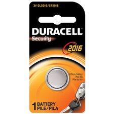 3 Volt Lithium Security 2016 Battery