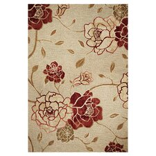Horizon Sage Green Flora Area Rug