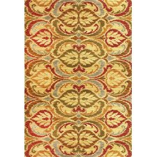 Lifestyles Gold Firenze Area Rug