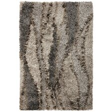 Optic Silver Grain Area Rug