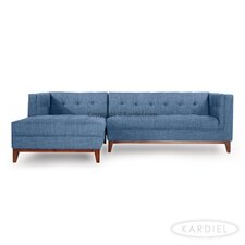 Harrison Modern Loft Sofa Chaise Sectional