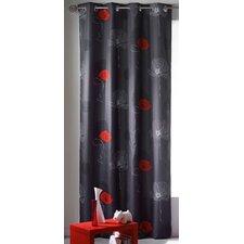 Poppy Single Curtain Panel
