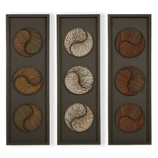 3 Piece Panel Wall Art Set