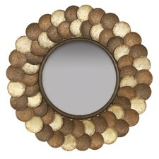 Capiz Shell Wall Mirror