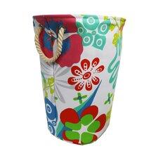 Flower Power Soft Circular Laundry Hamper