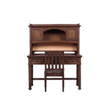 """Expedition 50"""" W Computer Desk with Optional Hutch and Chair"""