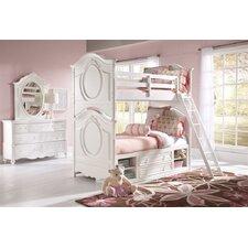 Sweet Heart Bunk Customizable Bedroom Set