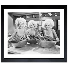 'Beautiful Bakers' Framed Photographic Print