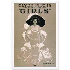 'Girls II' Framed Painting Print
