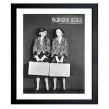 'Women At Work' Framed Photographic Print