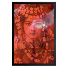 'Gypsy Girl' Framed Photographic Print