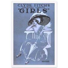 'Girls III' Framed Painting Print