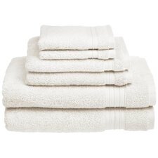 HygroSoft™ Cotton 6 Piece Towel Set