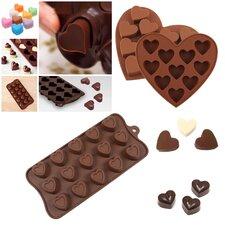 3 Piece Non-Stick Valentine Silicone Mold Set (Set of 3)