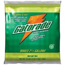 Gatorade® Instant Powder - 1 gal lemon lime powderdrink mix 40/cs