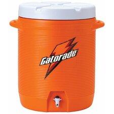Water Coolers - 10-gallon cooler w/cup dispenser & fast flow spigot