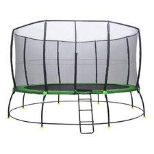 Hyper Jump 14' Round Trampoline with Safety Enclosure