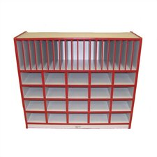 40 Compartment Cubby