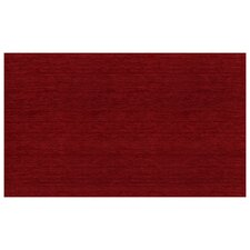 2-Piece Washable Chenille Red Area Rug