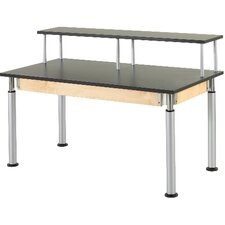 Adjustable Height Riser Table