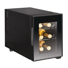 6 Bottle Single Zone Wine Refrigerator