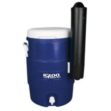 5 Gallon Seat Top Cooler with Cup Dispenser