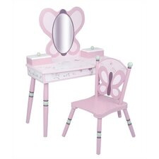 Sugar Plum Vanity Set with Mirror