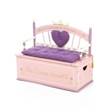 Princess Kid's Storage Bench