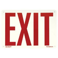Glow In The Dark Exit Signs - glow in the dark fire extinguisher signs  rigid