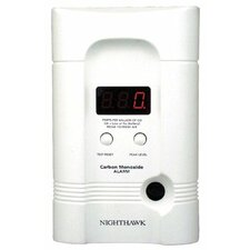 Kidde - Direct Plug & Batt Operated Co Alarms Carbon Monoxide Alarm: 408-900-0100-01 - carbon monoxide alarm