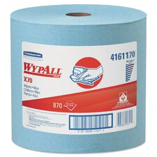 WyPall X70 Wipers with Jumbo Roll - 870 Wipes per Roll